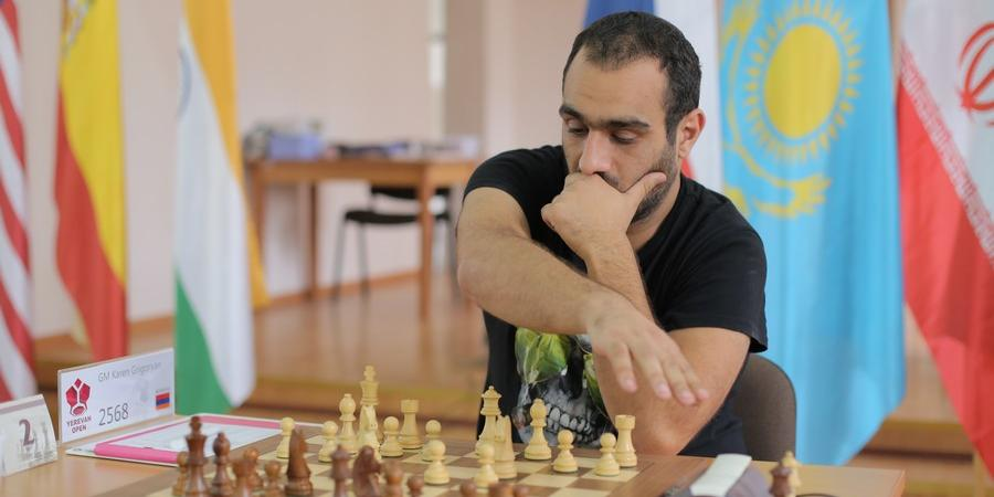 Karen Grigoryan and Arman Mikaelyan are leading the table after 4 rounds